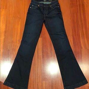 Wide leg 7 for All Man Kind Jeans